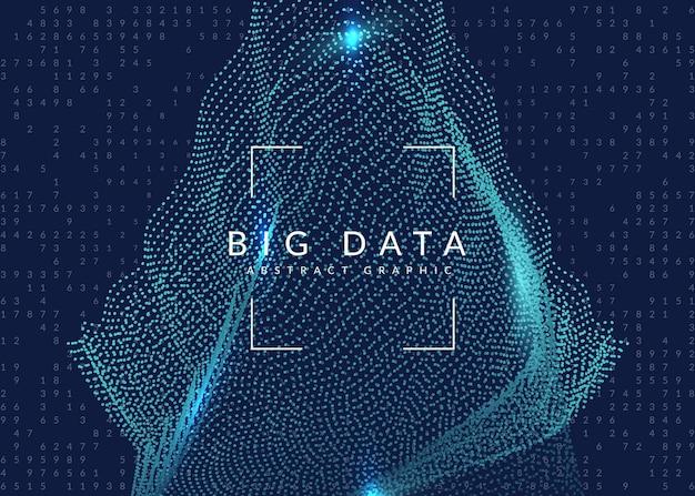 Quanteninnovationscomputer. digitale technologie. künstliche intelligenz, deep learning und big data-konzept. tech-visual für cloud-vorlage. futuristische quanteninnovationscomputerkulisse.