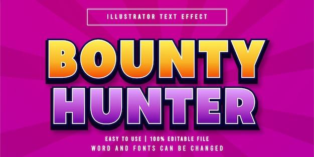 Quantum editable game title style texteffekt