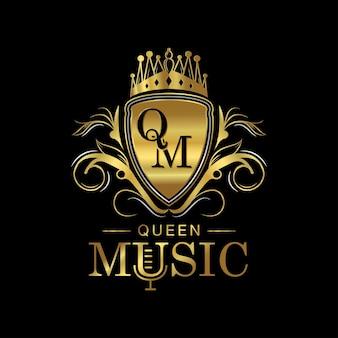 Queen music luxus-logo