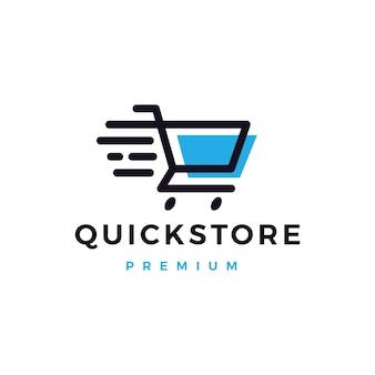 Quick shop store logo