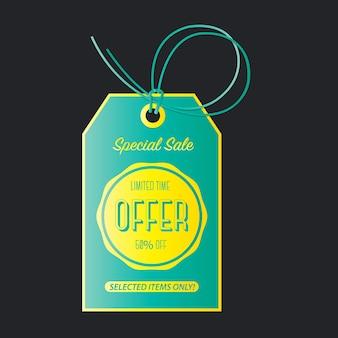 Rabatt-banner zum verkauf