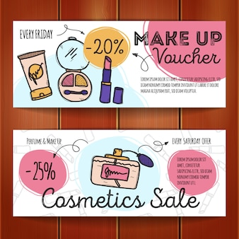 Rabatt-coupons für make-up-produkte