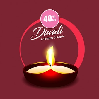 Rabatt-gutschein für diwali