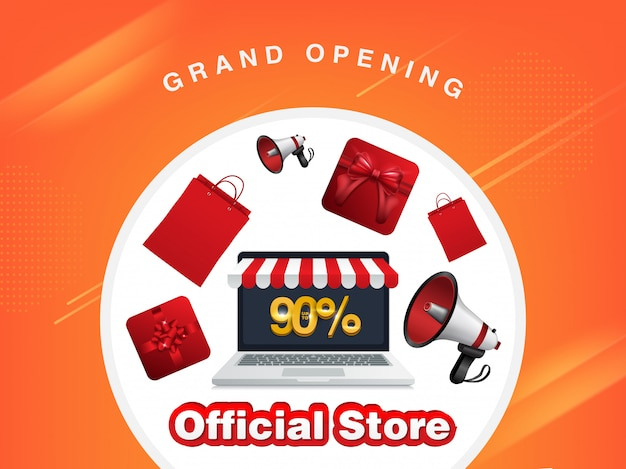 Rabatt, offizieller laden für online-shop