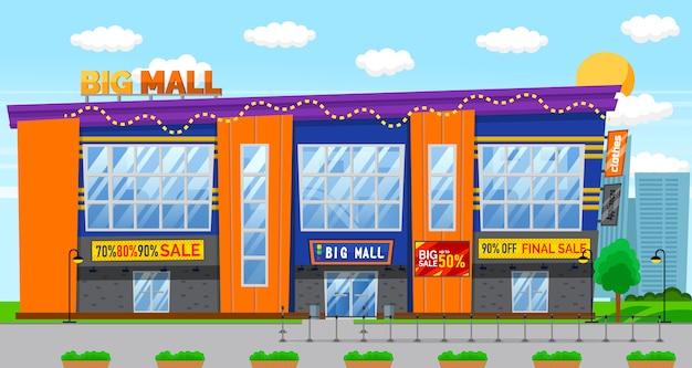 Rabatte verkauf in big mall, sale holiday
