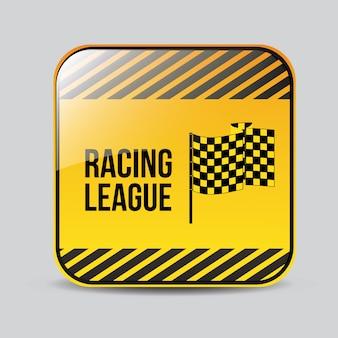 Race design, vektor-illustration.