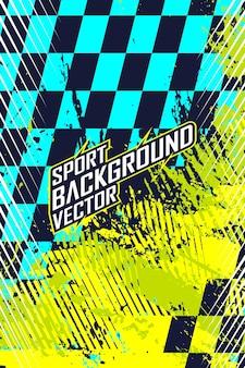 Racing abstrakter hintergrund für extreme trikot-teamrennen, radsport-leggings, fußballspiele