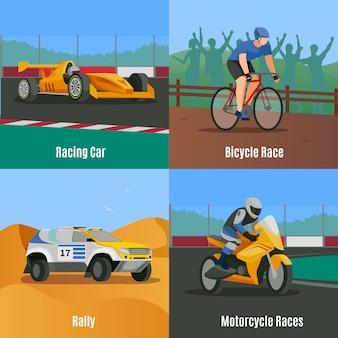 Racing flat