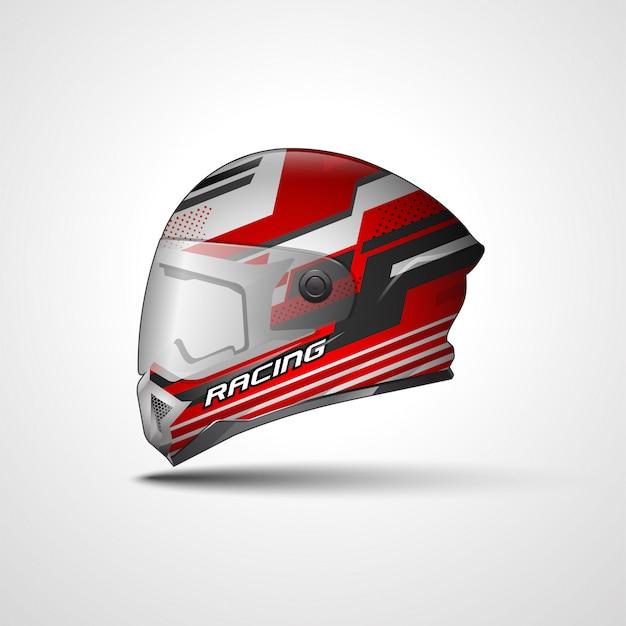 Racing sport helmwickel aufkleber und vinyl aufkleber design