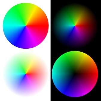 Räder in regenbogenfarben