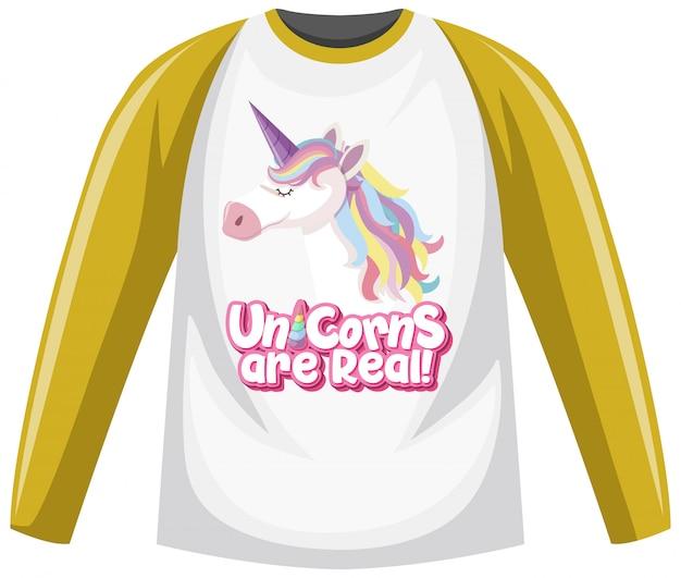 Raglan langarm t-shirt