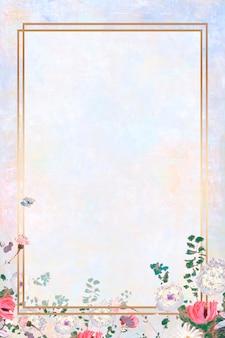Rahmen auf einem pastellbild
