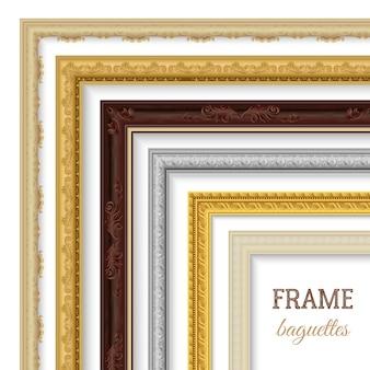 Rahmen baguettes set