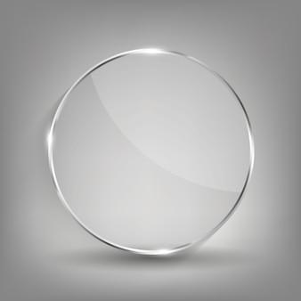 Rahmen für glastransparenz