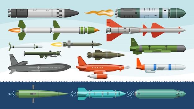 Raketen-raketenrakete und ballistische nu