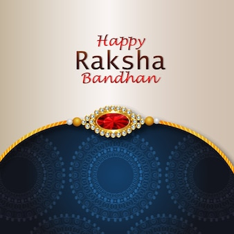 Rakhi für happy raksha bandhan