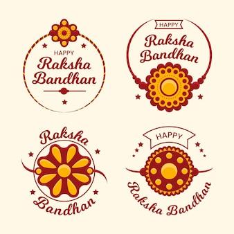 Raksha bandhan abzeichen pack