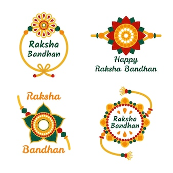 Raksha bandhan abzeichen