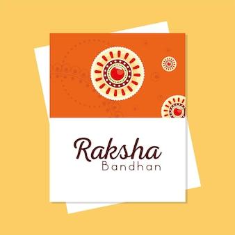 Raksha-bandhan-feier Premium Vektoren