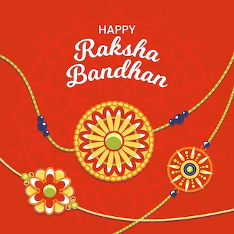 Raksha bandhan mit dekoration