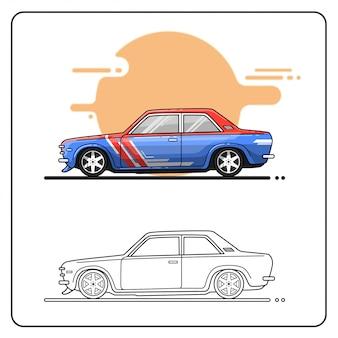 Rallyefahrzeug