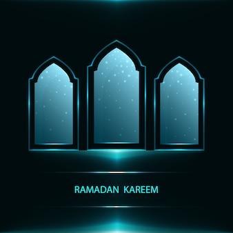 Ramadan-grußkarte