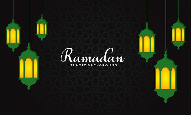 Ramadan hintergrund vektor-illustration