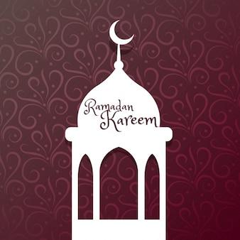 Ramadan kareem festival gruß