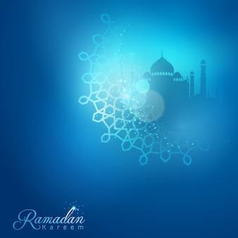 Ramadan kareem-gruß-karte