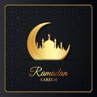 Ramadan kareem islamische illustration design
