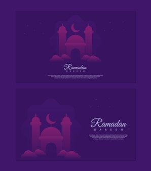 Ramadan kareem konzept