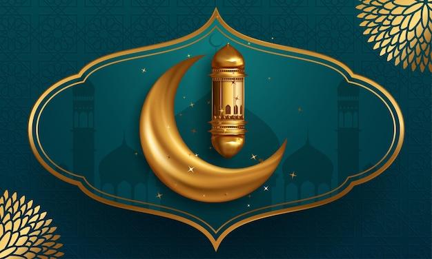 Ramadan kareem schöne begrüßung