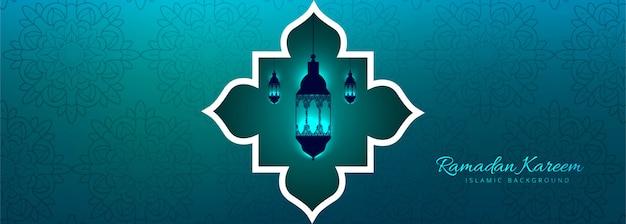 Ramadan kareem schönen hintergrund