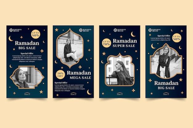 Ramadan verkauf instagram geschichten sammlung