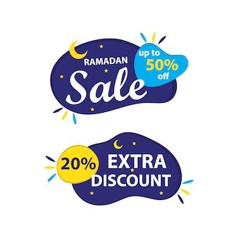 Ramadan-verkaufsbanner
