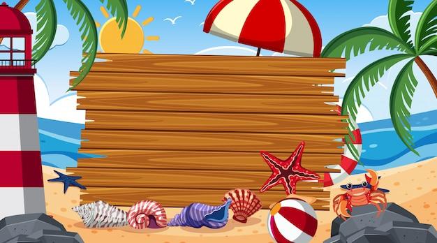 Randschablone mit sommer themein