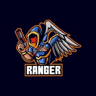 Ranger fly e-sport-ring gefahr rote menschen