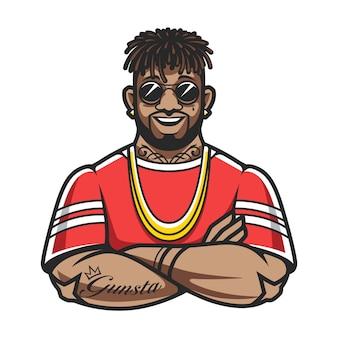 Rapper charakter