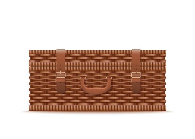 Rattan-picknick-fall