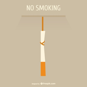 Rauchverbot konzept vektor