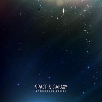 Raum hintergrund mit sternen