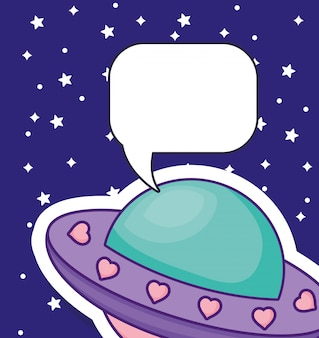 Raumschiff-symbolbild