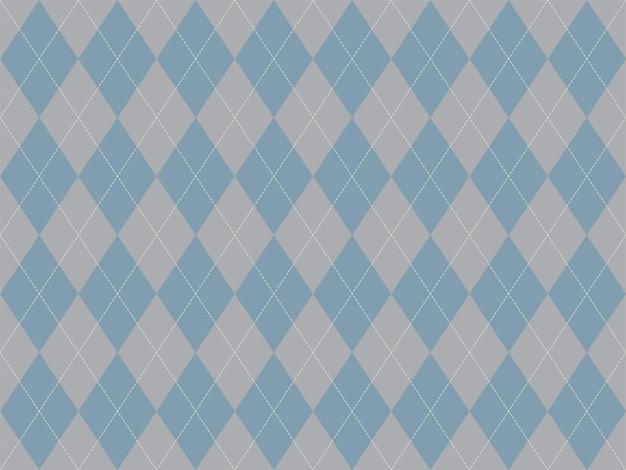 Rautenmuster nahtlos. stoff textur hintergrund. klassisches argill-vektorornament.