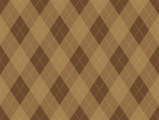 Rautenmuster nahtlos. stoff textur hintergrund. klassisches argillenornament.