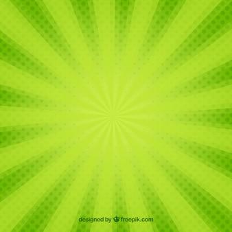 Ray vektor grün