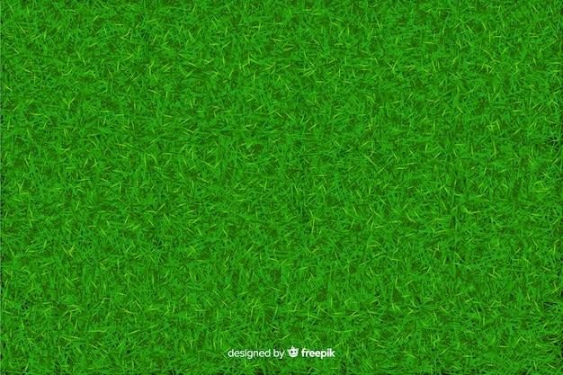 Realisitic design des hintergrundes des grünen grases