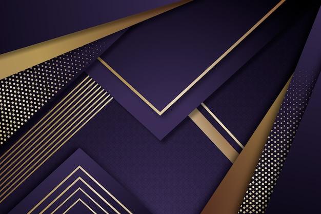Realisitic eleganter geometrischer formhintergrund