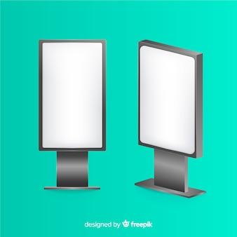 Realisticlight box plakatwand