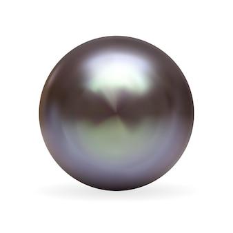 Realistische 3d-perle isoliert