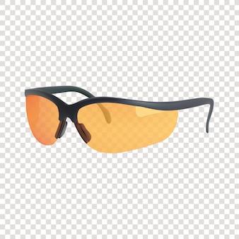 Realistische 3d-sportabenteuer-sonnenbrille
